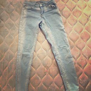 Bamboo   Light blue denim jeans